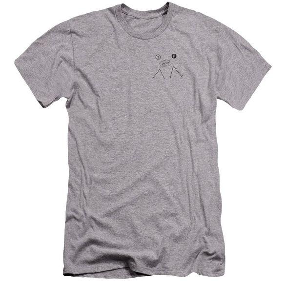 Twin Peaks Peak Pie Hbo Short Sleeve Adult Athletic T-Shirt