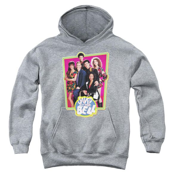 Saved By The Bell Saved Cast Youth Pull Over Hoodie
