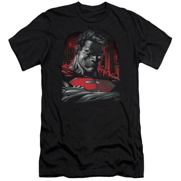 Superman Man Of Steel Premuim Canvas Adult Slim Fit
