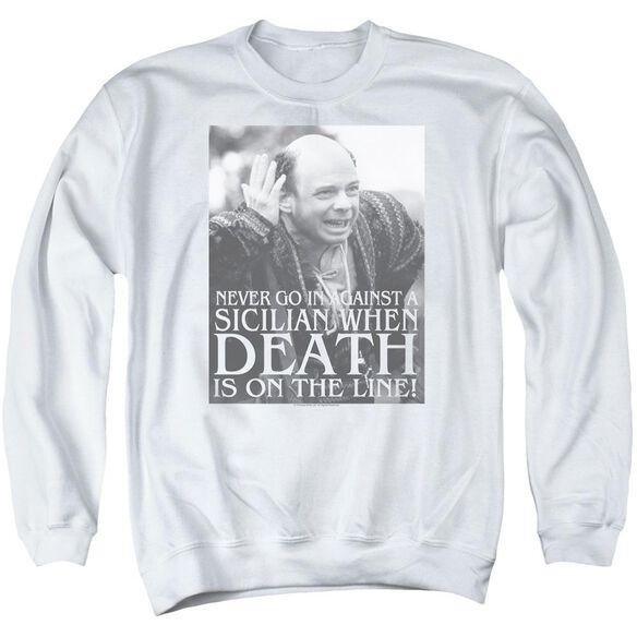 Princess Bride Sicilian Adult Crewneck Sweatshirt