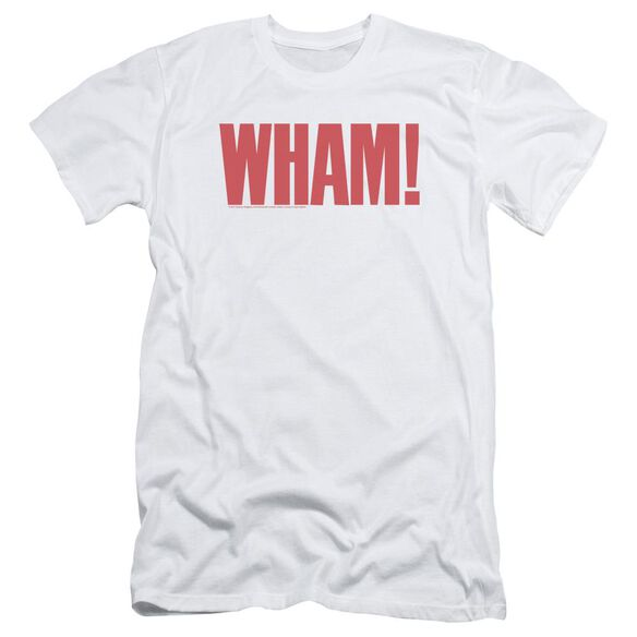 Wham Logo Short Sleeve Adult T-Shirt