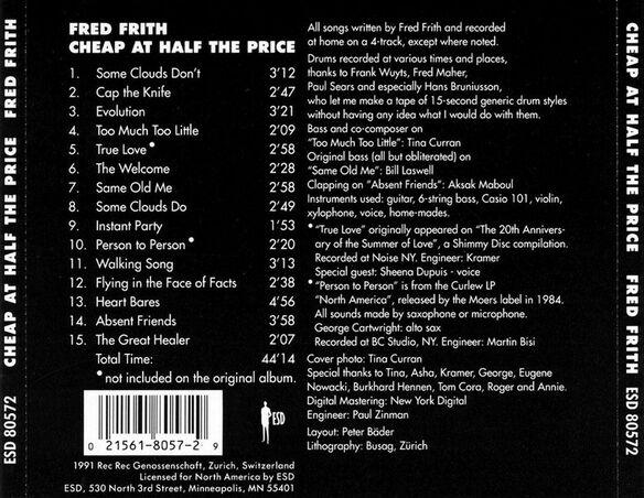 Cheap At Half The Pric392