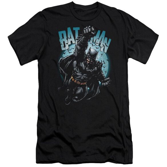 Batman Moon Knight Short Sleeve Adult T-Shirt