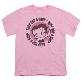 Betty Boop Oop A Doop Short Sleeve Youth T-Shirt