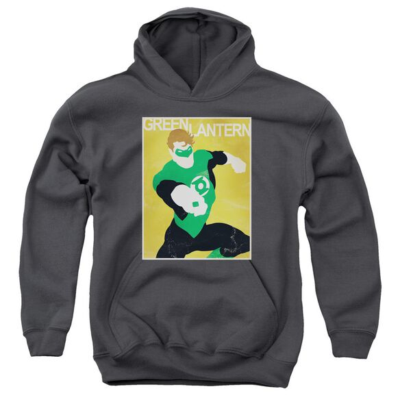 Dc Simple Gl Poster Youth Pull Over Hoodie