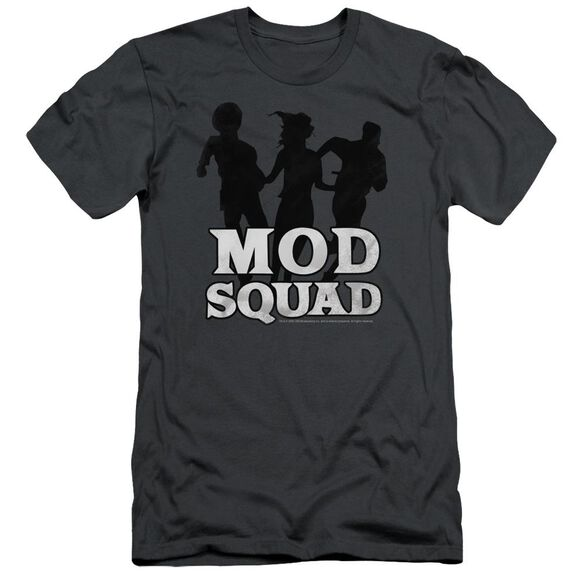 MOD SQUAD MOD SQUAD RUN SIMPLE - S/S ADULT 30/1 - CHARCOAL T-Shirt