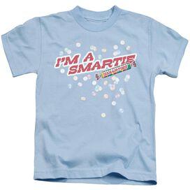 Smarties I'm A Smartie Short Sleeve Juvenile Light Blue T-Shirt