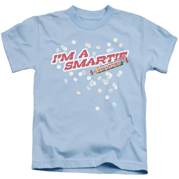 Smarties I'm A Smartie Short Sleeve Juvenile Light Blue T-Shirt