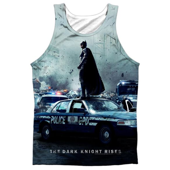 Dark Knight Rises Standoff Adult 100% Poly Tank Top