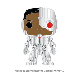 Funko Pop! Pin: DC Comics - Cyborg