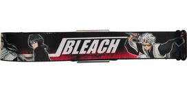 Bleach Name and Characters Black Seatbelt Mesh Belt