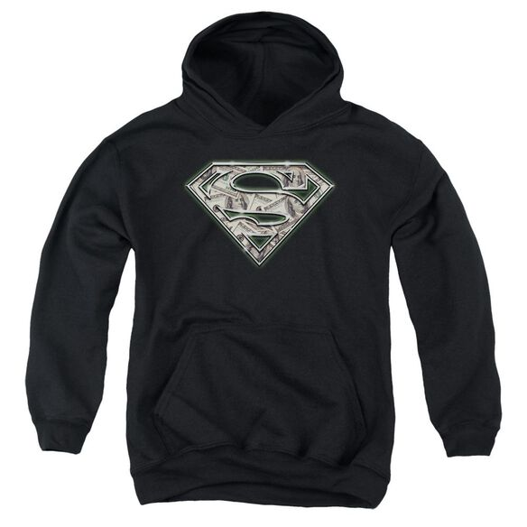 Superman All About The Benjamins Youth Pull Over Hoodie