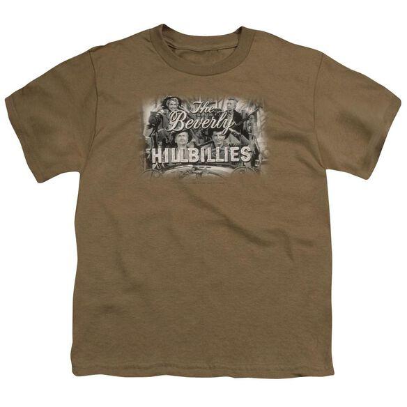 Beverly Hillbillies Logo Short Sleeve Youth Safari T-Shirt