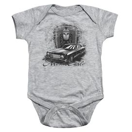 Chevrolet Monte Carlo Drawing Infant Snapsuit Athletic Heather