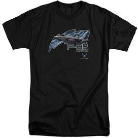 Air Force F35 Short Sleeve Adult Tall T-Shirt