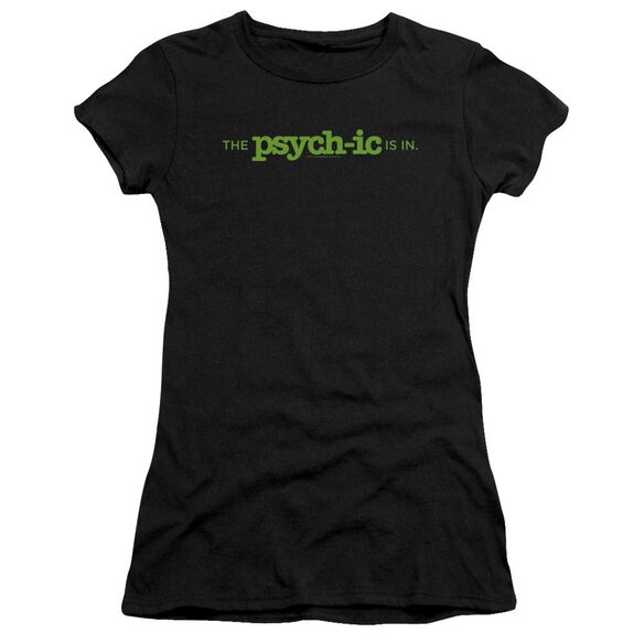 Psych The Psychic Is In Short Sleeve Junior Sheer T-Shirt