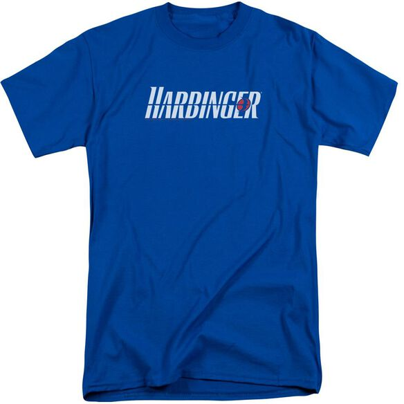 Harbinger Logo Short Sleeve Adult Tall Royal T-Shirt
