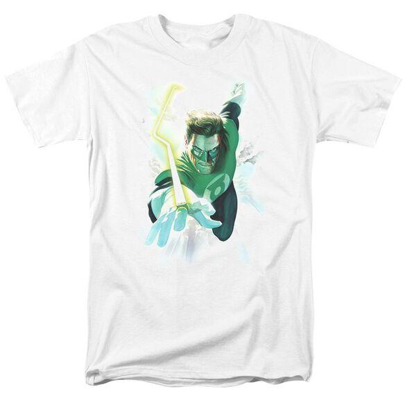 Green Lantern Clouds Short Sleeve Adult T-Shirt