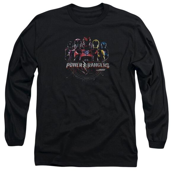 Power Rangers Ranger Circuitry Long Sleeve Adult T-Shirt