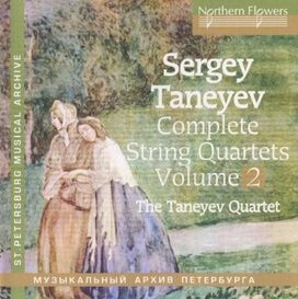 Taneyev String Quartet - Taneyev String Quartet 2 Nos. 5 & 7