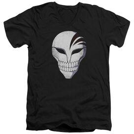 Bleach Mask Short Sleeve Adult V Neck T-Shirt