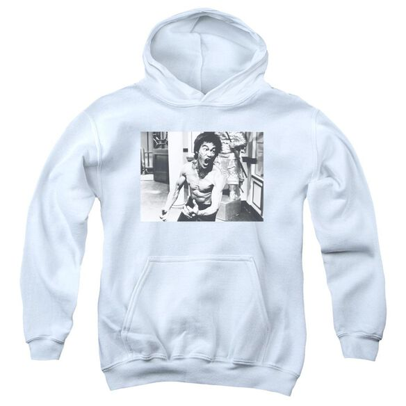 Bruce Lee Full Of Fury Youth Pull Over Hoodie