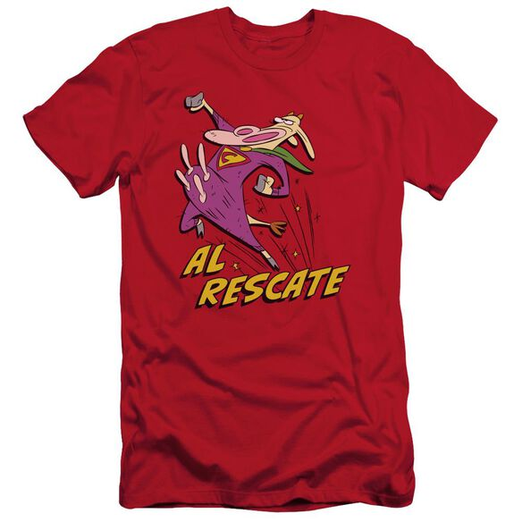 Cow And Chicken Al Rescate Short Sleeve Adult T-Shirt
