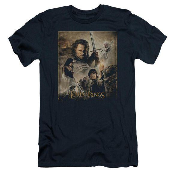 Lor Rotk Poster Short Sleeve Adult T-Shirt