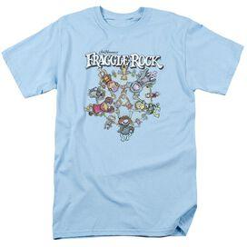 Fraggle Rock Spinning Gang Short Sleeve Adult Light T-Shirt