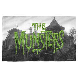 The Munsters Logo Golf Towel W Grommet