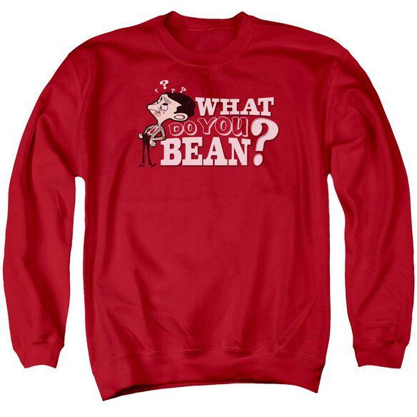 Mr Bean What You Bean Adult Crewneck Sweatshirt