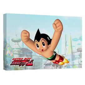 Astro Boy City Boy Quickpro Artwrap Back Board