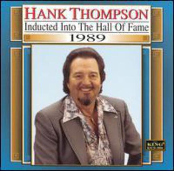 Hank Thompson - Country Music Hall of Fame 1989