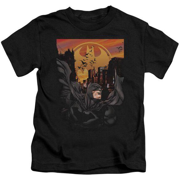 Batman Always On Call Short Sleeve Juvenile Black T-Shirt
