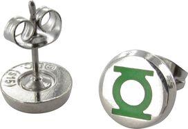 Green Lantern Logo Enamel Stud Earrings