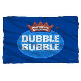 Dubble Bubble Vintage Logo Fleece Blanket