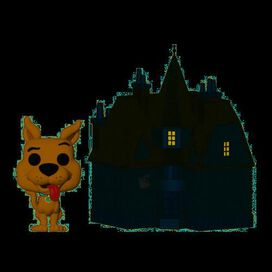 Funko Pop! Town: Scooby Doo Haunted Mansion