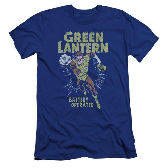 Green Lantern Fully Charged-premuim Canvas Adult Slim Fit