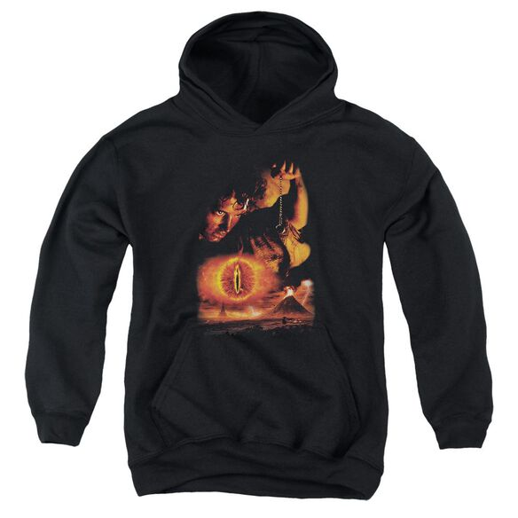 Lor Destroy The Ring Youth Pull Over Hoodie