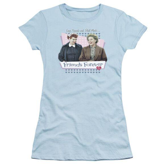 I Love Lucy Friends Forever Short Sleeve Junior Sheer Light T-Shirt