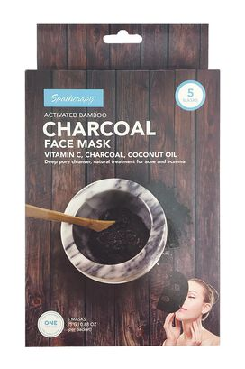 Spatherapy Charcoal Face Mask - 5 Count