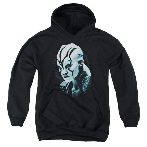 Star Trek Beyond Jaylah Burst Youth Pull Over Hoodie
