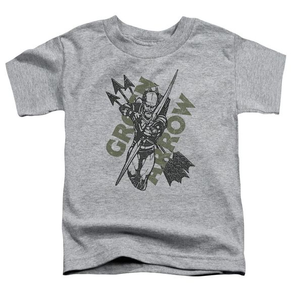 Jla Archers Arrows Short Sleeve Toddler Tee Athletic Heather T-Shirt