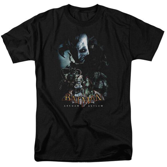Batman Aa Five Against One Short Sleeve Adult T-Shirt