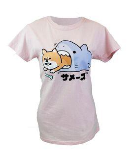 Shark Eating Corgi Women's T-Shirt
