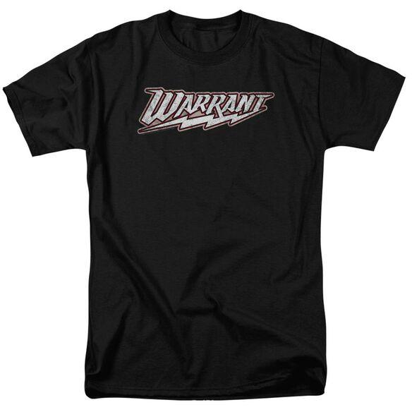 Warrant Warrant Logo Short Sleeve Adult T-Shirt