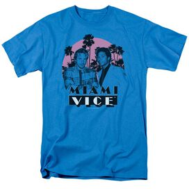 MIAMI VICE STUPID - S/S ADULT 18/1 - TURQUOISE T-Shirt