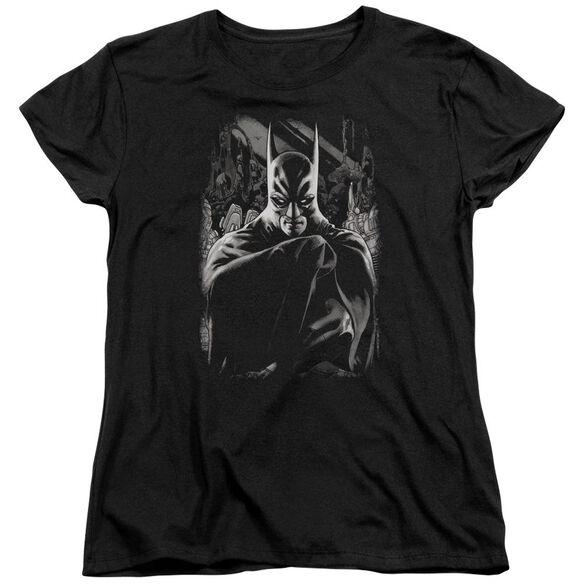 Batman Detective 821 Cover Short Sleeve Womens Tee T-Shirt