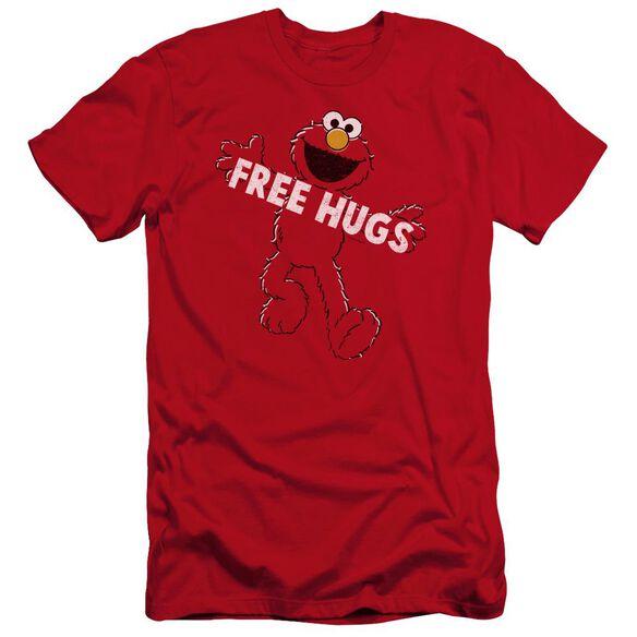Sesame Street Free Hugs Premuim Canvas Adult Slim Fit