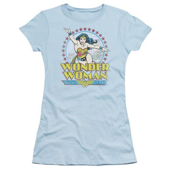 Dc Star Of Paradise Island Short Sleeve Junior Sheer Light T-Shirt